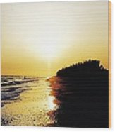 Amazing Sanibel Sunset Wood Print