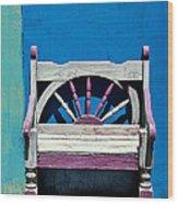Santa Fe Chair Wood Print