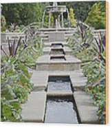 Sarah Lee Baker Perennial Garden 3 Wood Print