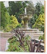 Sarah Lee Baker Perennial Garden  4 Wood Print