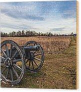 Saratoga Battlefield Wood Print