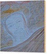 Sea Of Faces Wood Print