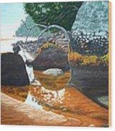 Sealers Creek Wood Print
