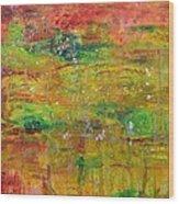 Seasonal Ecology Wood Print