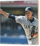 Seattle Mariners V San Diego Padres Wood Print