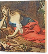 Seghers' The Repentant Magdalen Wood Print