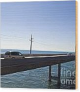 Seven Mile Bridge Florida Keys Wood Print
