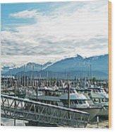 Seward Alaska Wood Print