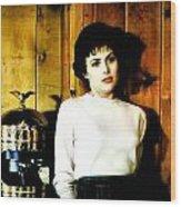She'd Been Murdered Wood Print