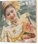 Sinulog Festival In Cebu Of Philippines Wood Print