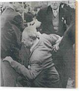 Sir Oswald Mosley Dies In Paris Wood Print