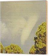 Skyscape - Tornado Formed Wood Print