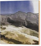 Slope Of Hills In The Scottish Highlands Wood Print