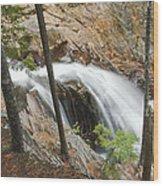 Smalls Falls In Western Maine Wood Print
