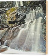 Smoky Mountain Falls Wood Print