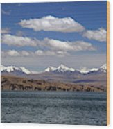 South America, Bolivia, Lake Titicaca Wood Print