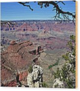 South Rim Of The Grand Canyon Wood Print