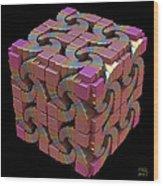 Spiral Box IIi Wood Print
