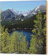 Spring At Bear Lake Wood Print