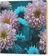 Spring Flowers Wood Print by Joe McCormack Jr