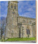 St Andrews Aysgarth Wood Print