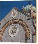 St. Augustine Florida Church Wood Print