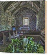 St Beunos Church Wood Print