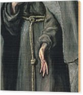 St Francis Of Assisi Wood Print