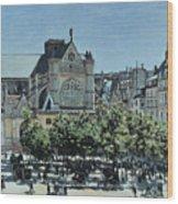 St. Germain L'auxerrois Wood Print