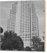 St. Louis Skyscraper Wood Print