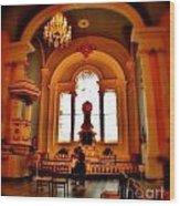 St Pauls Chapel Wood Print