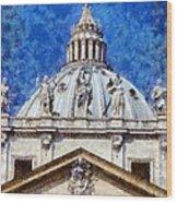 St Peter In Vatican Wood Print