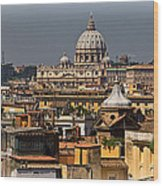 St Peters Basilica Wood Print