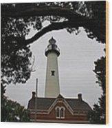 St Simons Island Lighthouse Wood Print