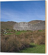 Staigue Fort At 2,500 Years Old One Wood Print