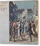 Stamp Act Riot, 1765 Wood Print