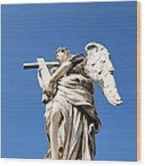 Statue In Vatican City Wood Print