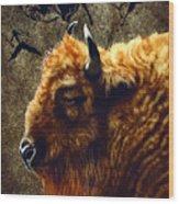 Stonebull Wood Print