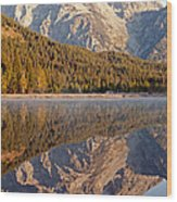 String Lake Grand Teton National Park Wood Print