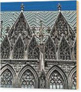 St.stephan Cathedral - Vienna - Austria Wood Print
