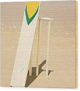 Summer Sport Wood Print