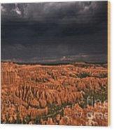 Summer Thunderstorm Bryce Canyon National Park Utah Wood Print