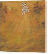 Sun Choir Wood Print