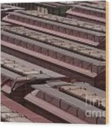 Switch Yard For Box Cars Wood Print