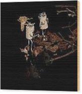 Szene Wood Print