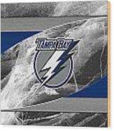 Tampa Bay Lightning Wood Print