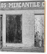Taos Mercantile Wood Print