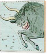 Taurus Constellation Wood Print
