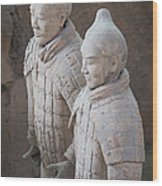 Terracotta Warriors, China Wood Print