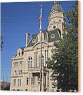 Terre Haute Indiana - Courthouse Wood Print
